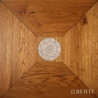 Berti Parquet: Pattern Floor parquet planed by hand