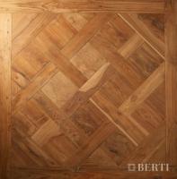 Berti Parquet: Pattern Floor parquet Barbaro inlaid by hand