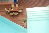 Berti Pavimenti Legno - Havana Decking Iroko - Decking Pavimenti
