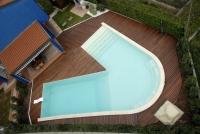 Berti Wood Flooring - Havana Decking Iroko - Outdoor Parquet Floor