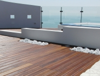 Berti Outdoor Parquet Havana Decking Iroko - Berti Wooden Floors - Parquet Decking
