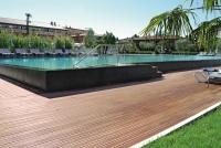 Berti Outdoor Parquet Havana Decking Iroko - Berti Wood Flooring - Outdoor Decking