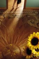 Berti Artistic Parquet: Custom Made Laser Inlay - Berti Wooden Floors