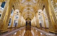 Berti Artistic Parquet: Custom Made Laser Inlay - Kremlin Palace - Floorings for President\'s