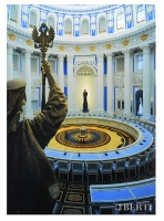 Berti, Artistic parquet, Berti parquet Laser Inlay, Berti Wood Flooring, Inlaid Parquet, Kremlin Palace, Moscow - Russia