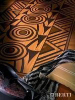 Berti Artistic Parquet: model Tam Tam - Berti Wooden Floors - Inlaid Parquet