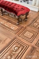 Berti Artistic Parquet: model Rizzardi - Berti Wooden Floors - Inlaid Parquet