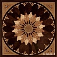 Berti Artistic Parquet: model Tivoli Black - Berti Wooden Floors - Inlaid Parquet