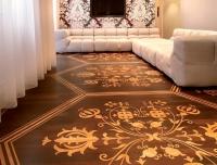 Berti Parquet Artistici: Intarsio Personalizzato - Berti Pavimenti Legno - Intarsiato Noce e Rovere