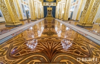 Berti Parquet Artistici: Intarsio su misura - Palazzo del Cremlino - Mosca