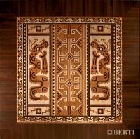 Berti Parquet Artistici: Intarsio Maya - Berti Pavimenti Legno - Parquet intarsiato