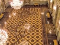 Berti Wood Flooring References: Parquet with inlays - Gran Teatro La Fenice - Venice