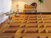 Berti Wood Flooring References: Parquet with inlays - Custom Made Marquetry