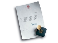 Berti Wood Flooring References: Thank You Letter from Elisabetta II to Giancarlo