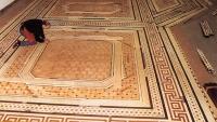 Berti Pavimenti Legno: la realizzazione del pavimento ad inarsio laser del Castello di Winsor