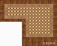 Rendering project by Berti Wooden Floors Laser Inlays.