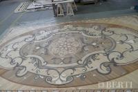 23-Berti Wooden Floors, Work in Progress - Artistic parquet with laser inlays - Made in Italy - 31