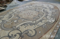 22-Berti Wooden Floors, Work in Progress - Artistic parquet with laser inlays - Made in Italy - 32