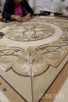 20-Berti Wooden Floors - Parquet Work in progress - Marquetry wood inlay