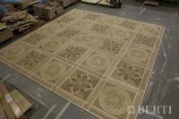 2-Berti Wood Flooring - Parquet Work in progress - Artistic parquet with laser inlays