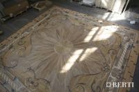 48-Berti Wooden Floors, Work in Progress - Artistic parquet with laser inlays