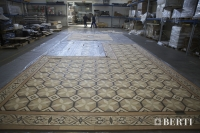 39-Berti Wooden Flooring, Work in Progress - Artistic parquet with laser inlays - Made in Italy