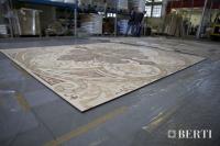 50-Berti Wooden Floors, Work in Progress - Artistic parquet with laser inlays