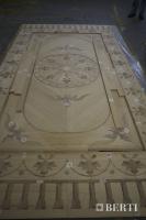 62-Berti work in progress, wooden flooring