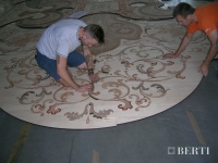42-Berti Wooden Floors, Work in Progress - installation