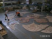 41-Berti Wooden Floors, Work in Progress - 42-Berti Wooden Floors, Work in Progress - installation laser wood inlay-