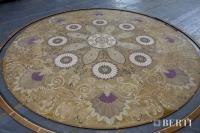34-Berti Wooden Floor - Made in Italy - Work in progress - Artistic parquet with laser inlays