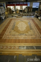 26-Berti Wooden Floors, Work in Progress - Artistic parquet with laser inlays - Made in Italy - 28