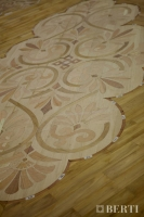 25-Berti Wooden Floors, Work in Progress - Artistic parquet with laser inlays - Made in Italy - 29