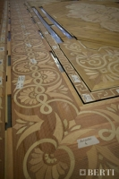 24-Berti Wooden Floors, Work in Progress - Artistic parquet with laser inlays - Made in Italy - 30