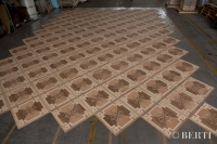 30-Berti Wooden Floors, Work in Progress - Artistic parquet with laser inlays - Made in Italy - 24