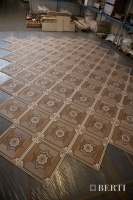 31-Berti Wooden Floors, Work in Progress - Artistic parquet with laser inlays - Made in Italy - 23