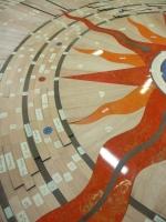13 - Berti Pavimenti Legno - Work in progress - Parquet artistici intarsio legno resina e cristalli Swarovski_5