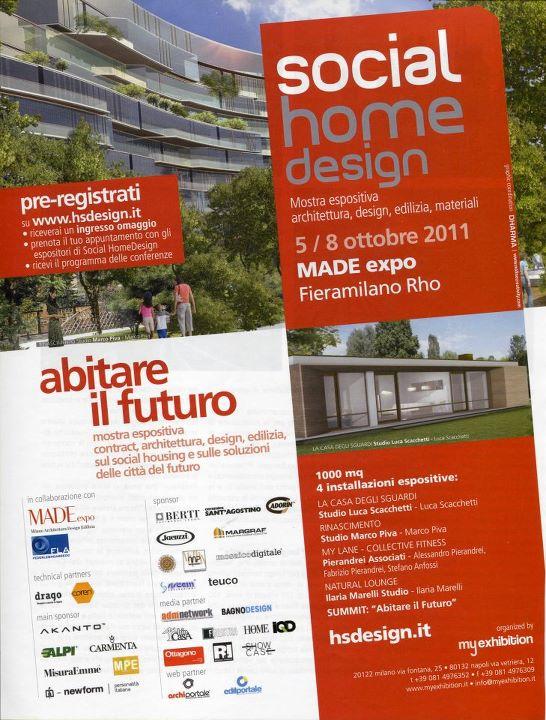 """Made Expo In Mostra L Abitare Sostenibile : Il nuovo concetto di """"social housing al made expo"""