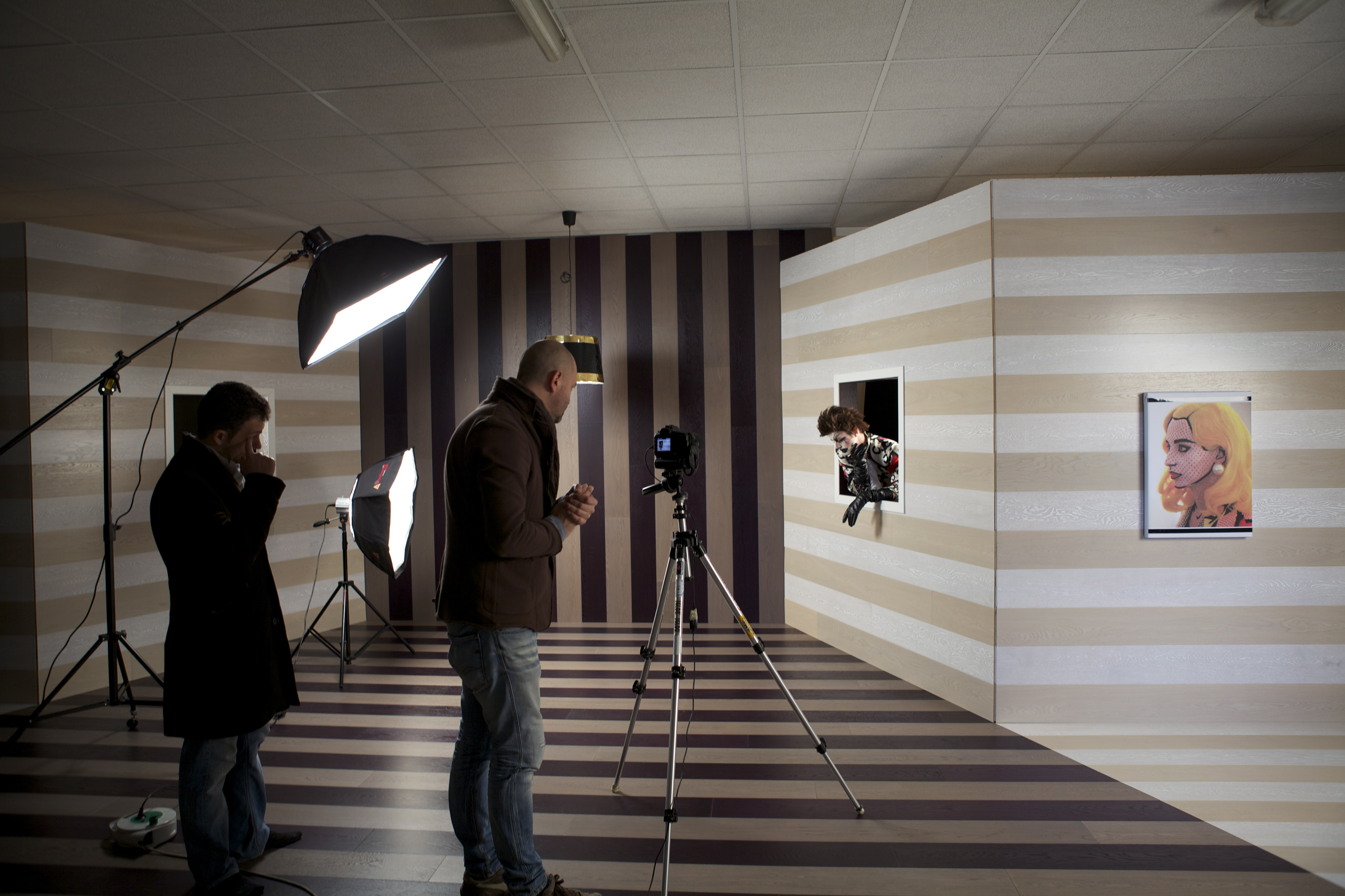 La linea berti studio si rinnova color your soul color for Arredamento studio fotografico