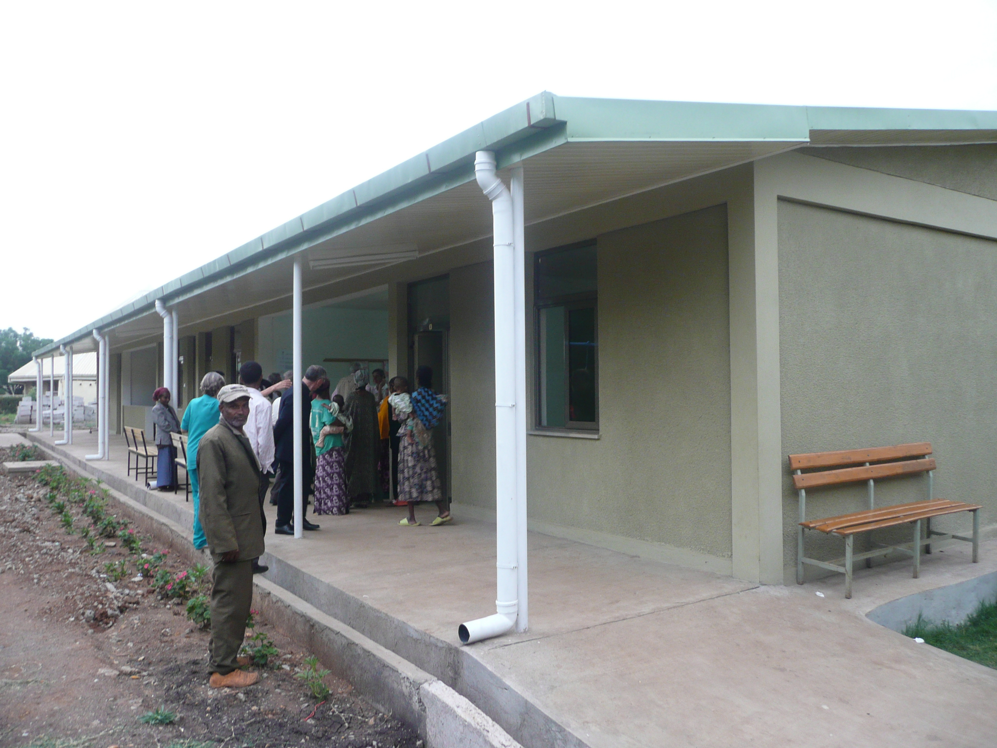 Il reparto di pediatria in Etiopia ultimato