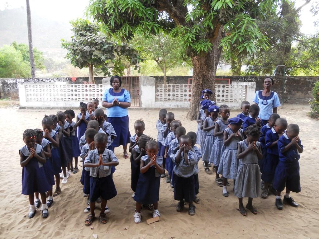 I bambini in Sierra Leone