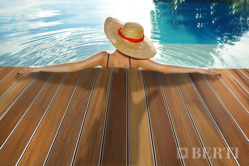 Berti Havana Tech Iroko: il parquet decking per esterno brevettato da Berti