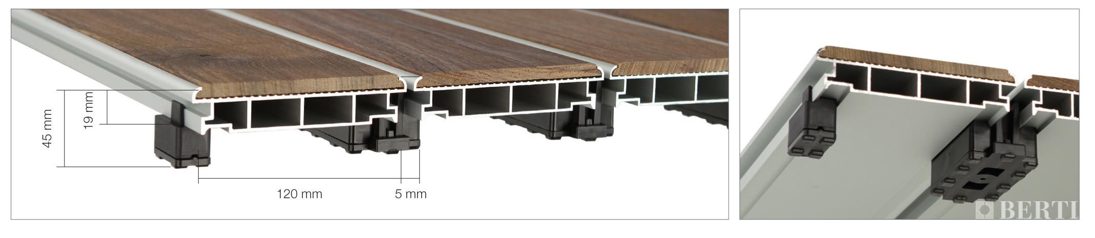 Il parquet all esterno berti havana berti pavimenti in legno blog - Listoni in legno per esterni ...