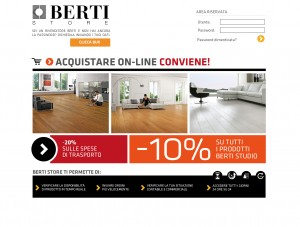 Nuova Home Page BertiStore