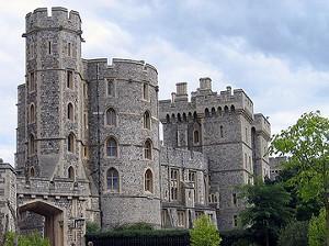 Veduta esterna del Castello di Windsor
