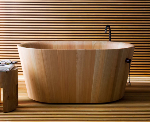 Rapsel: vasca da bagno Ofurò