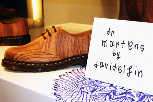 Berti Blog:David Delfin per Dr Martens