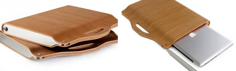 Berti Blog: custodia laptop in legno