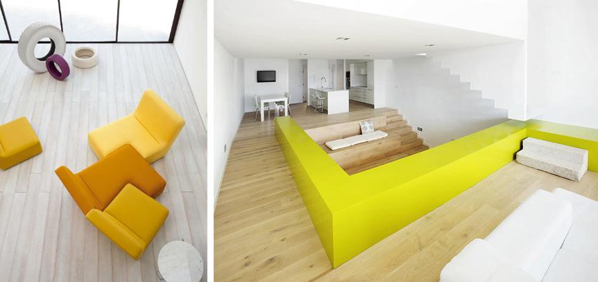 Berti parquet - design trend giallo
