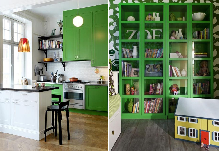Berti parquet- emerald green